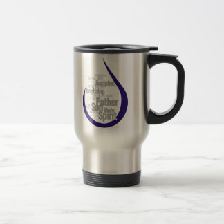 Men of His Word Travel Mug