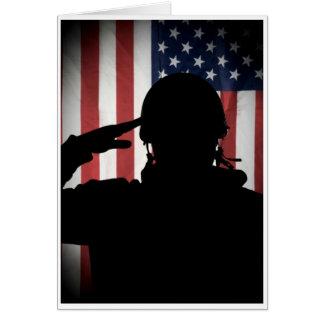 Men of Honor - Salute Card