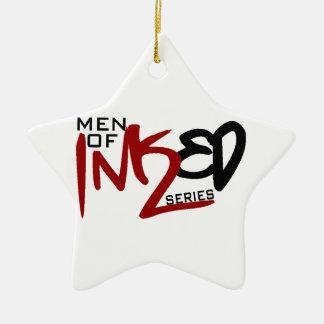 Men of Inked Household Items Ceramic Star Decoration