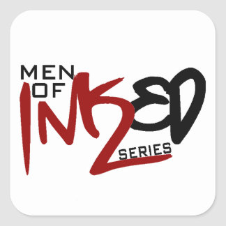 Men of Inked Household Items Square Sticker