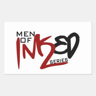 Men of Inked Household Items Rectangular Sticker