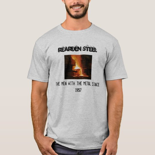 Men of Metal -- Rearden Metal T-Shirt