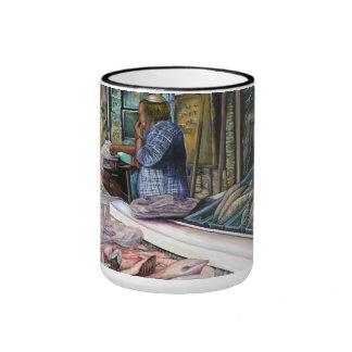 Men of the Desert, Gifts of the Sea, Jerusalem Ringer Mug