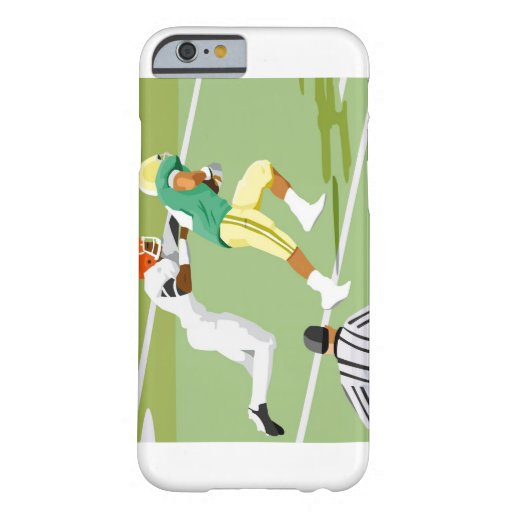 Men playing football 2 iPhone 6 case