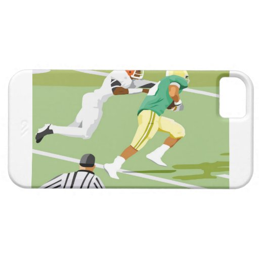 Men playing football 2 iPhone 5 cases