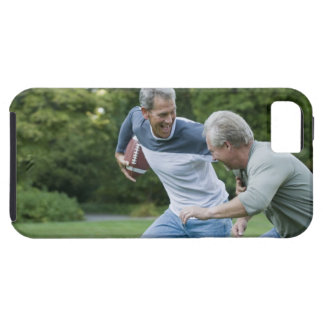 Men playing football iPhone 5 cases