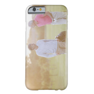Men pulling golf carts barely there iPhone 6 case