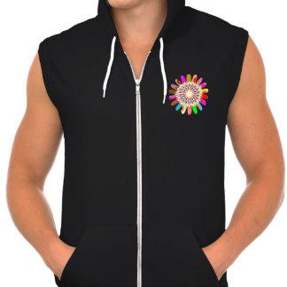 Men s AA California Fleece SleeveLESS CHAKRA Tshirts