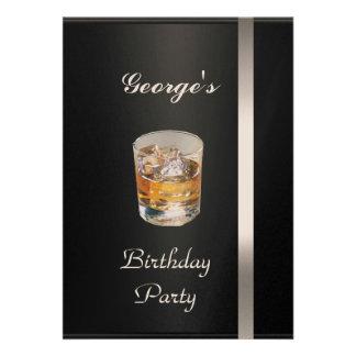 Men s Birthday Party Invitation