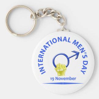 Men s Day Keychain