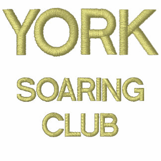 Men s Golf Shirt With YORK SOARING CLUB Design Embroidered Shirt