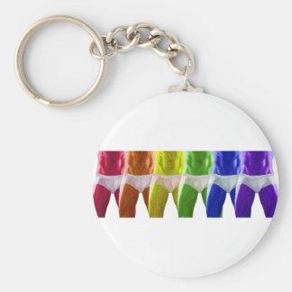 Men s Rainbow Underwear Keychain