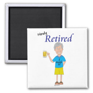 Men's retirement magnet
