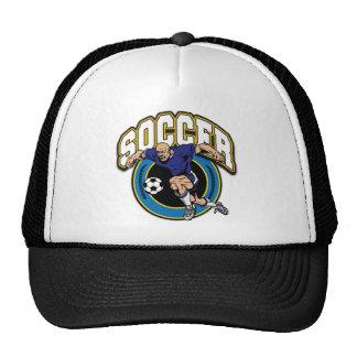 Men s Soccer Logo Mesh Hat