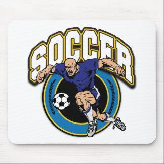 Men s Soccer Logo Mousepads