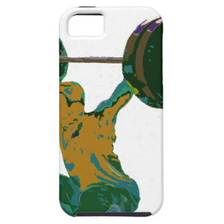 Men s weight lifting fitness t-shirts iPhone 5 case