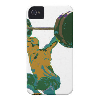 Men s weight lifting fitness t-shirts iPhone 4 case