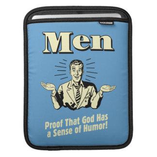 Men: Sense Of Humor iPad Sleeve