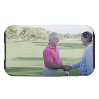 Men shaking hands on golf course iPhone 3 tough cases