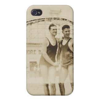 Men Standing on Beach Case For The iPhone 4