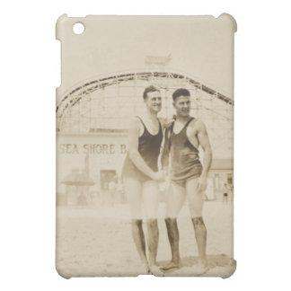 Men Standing on Beach iPad Mini Case