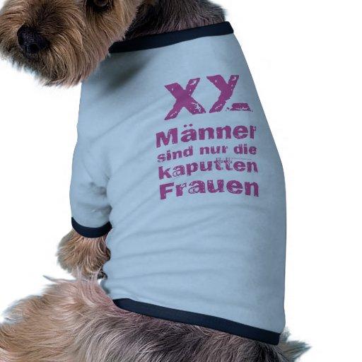 Men, the broken women pet tee shirt