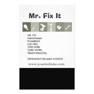 Men Tools. Hammer Wrench Repair Tools Gray Flyer