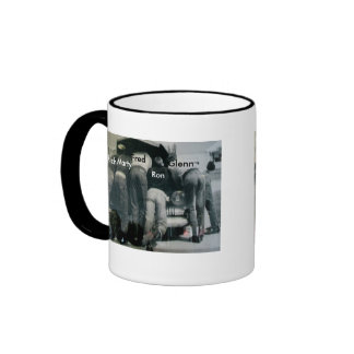 Men Under the Hood Ringer Mug