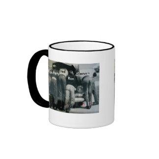 Men Under the Hood Ringer Coffee Mug