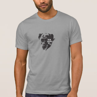 Men/Unisex T-shirt with Jody Chimpanzee Image