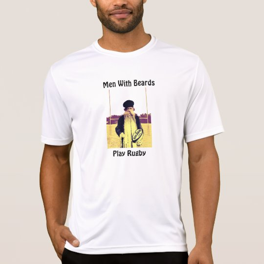 Men With Beards Play Rugby - T-Shirt