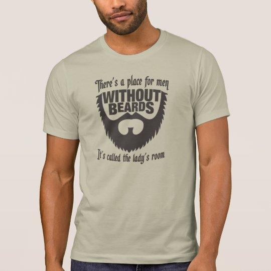 Men Without Beards T-Shirt