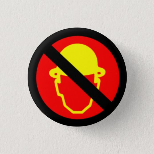 Men Without Hats 3 Cm Round Badge