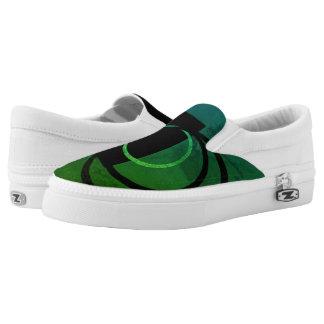 Men/Women Slip On Shoe - Quake - Green
