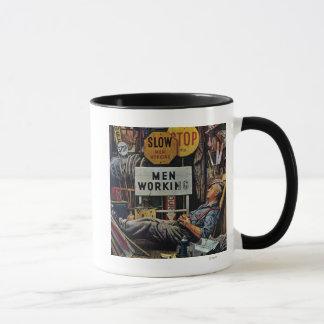 Men Working Mug