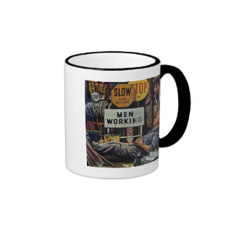 Men Working Coffee Mugs