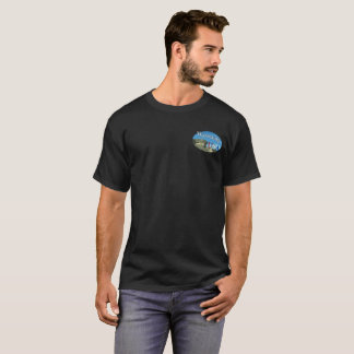 Men Wyoming USA Dark T-Shirt