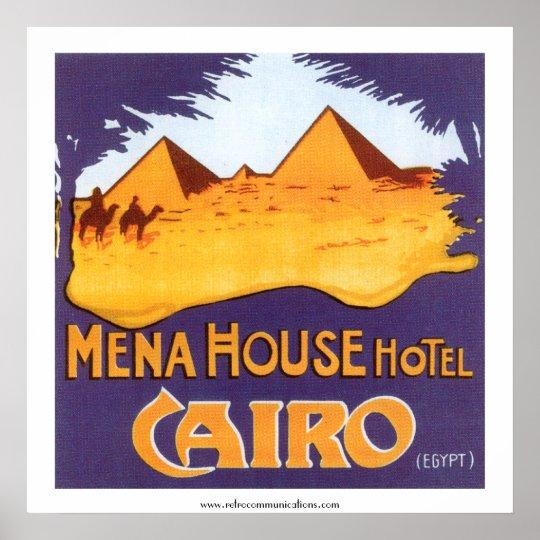 Mena House Hotel Cairo Poster