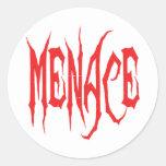 Menace Stickers