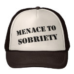 Menace To Sobriety Cap