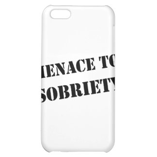 Menace To Sobriety iPhone 5C Case