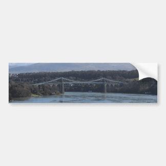 Menai Strait Bridge - Anglesey/ Wales Bumper Sticker