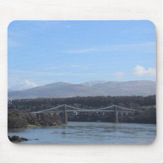 Menai Strait Bridge - Anglesey/ Wales Mouse Mat