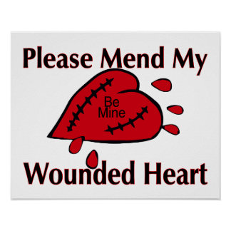Mend My Wounded Heart Poster