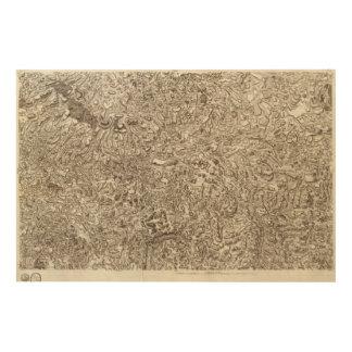 Mende Wood Print