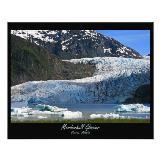 Mendenhall Glacier / Juneau Alaska Photograph