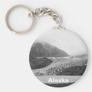 Mendenhall Glacier Key Ring