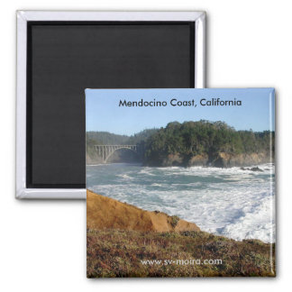 Mendocino Coast, California Magnet