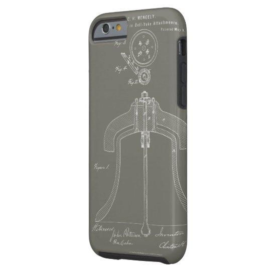 Meneely Bell Rotary Yoke Patent - iPhone Case
