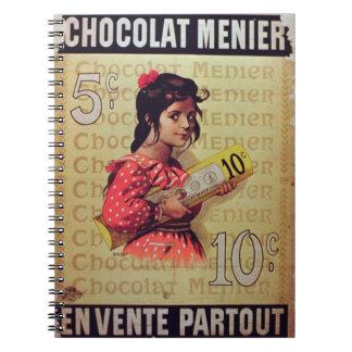 'Menier Chocolat', On Sale Everywhere (colour lith Notebook